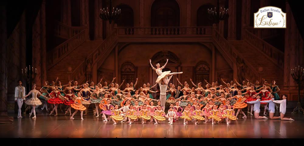 バレエスタジオリリアコンサートの様子17