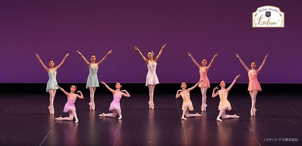 バレエスタジオリリアコンサートの様子1