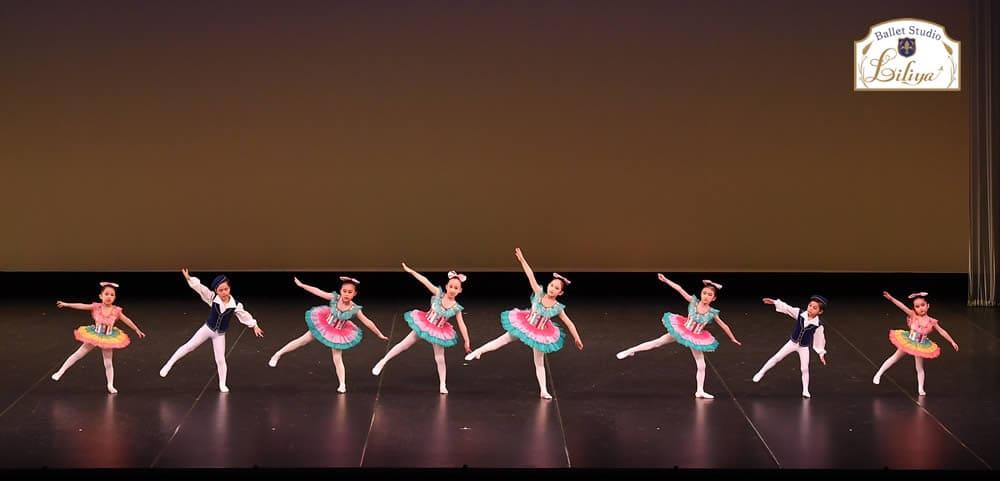 バレエスタジオリリアコンサートの様子2
