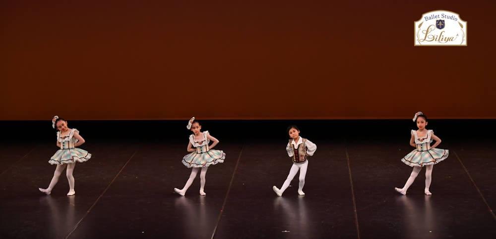 バレエスタジオリリアコンサートの様子3