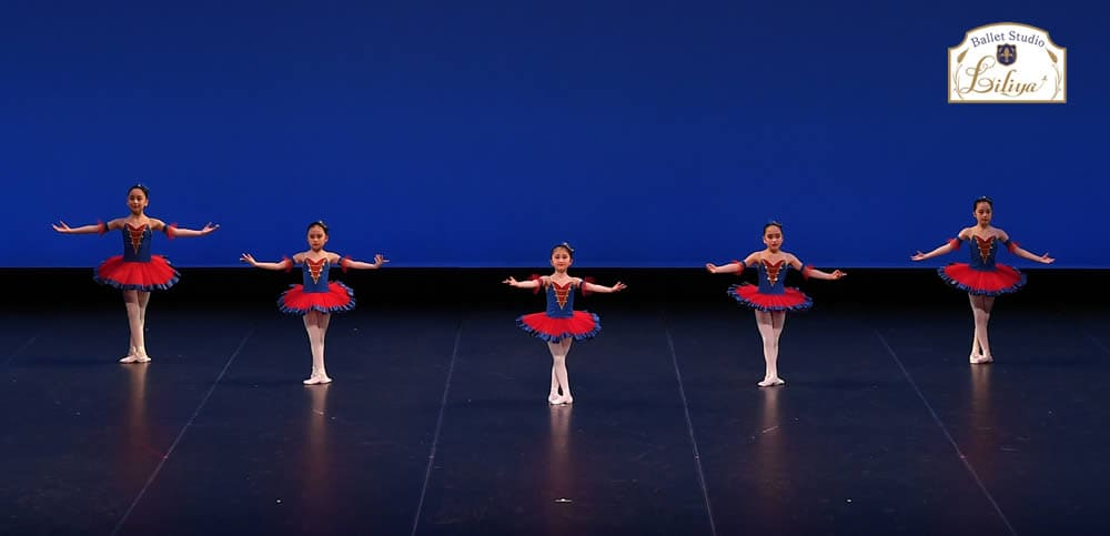 バレエスタジオリリアコンサートの様子4